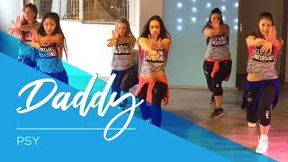 PSY - DADDY - Easy Fitness & Cover dance ( parts ) Choreography Kids(Crazy song and dancemoves by PSY.. we love it! Extra choreo: sassie - Saskia van Dijk Instagram/Facebook: saskiasdansschool., 2015-12-06T02:25:07.000Z)