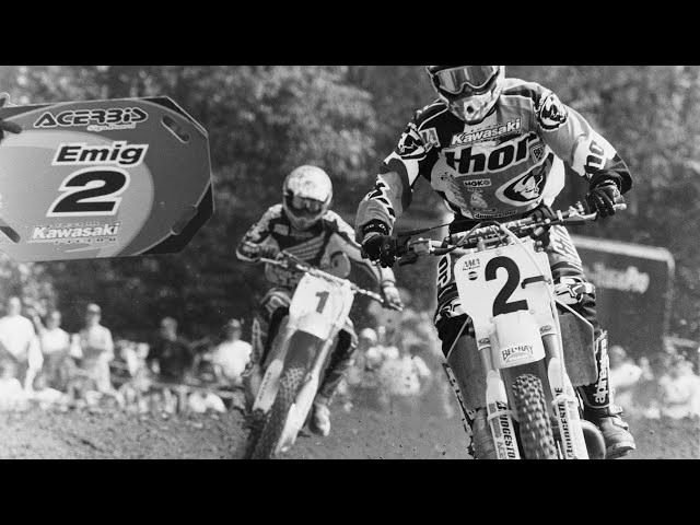 1996 Pro Motocross - Broome-Tioga and Steel City 250 Class Motos