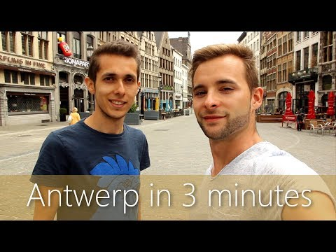 Antwerp in 3 minutes | Travel Guide | Must-sees for your city tour