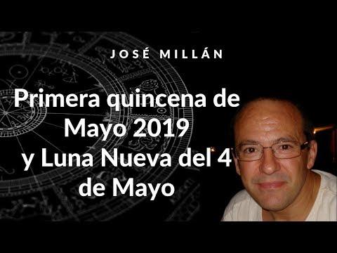 Primera quincena de mayo 2019 y luna nueva del 4 de mayo.