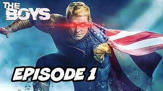 The Boys Season 2 Episode 1 Opening Scene - Homelander Breakdown and Justice League Easter Eggs