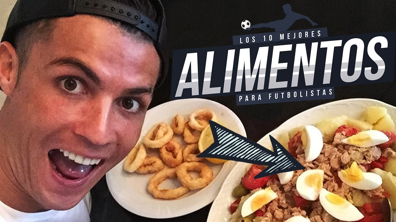 dieta de un futbolista de elite