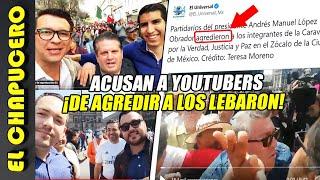 El Universal culpa a youtubers ¡de agredir a los LeBaron! Quieren tapar fracaso de marchita