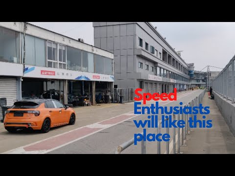 I Found This Racing Arena In Shanghai    Do You Have Need For Speed?