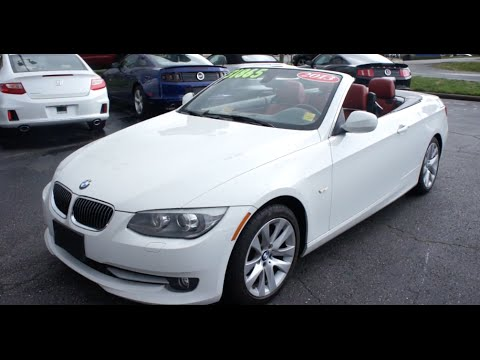 2013 BMW 328i Convertible Walkaround Start Up Tour And Overview