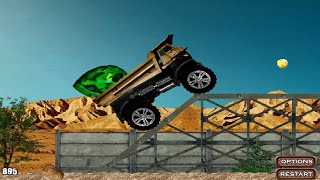 Money Truck | (gametornado) All 24 levels -  Monster Truck Game For Kids - Kids TV Channel