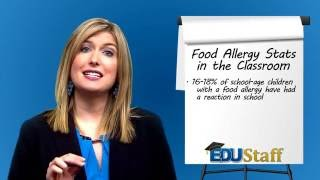 SubTalk: Oh nuts! Food Allergies in the Classroom