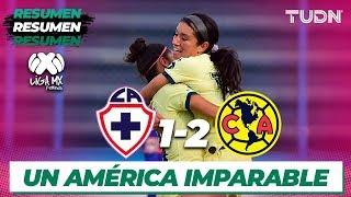 Resumen y Goles | Cruz Azul 1 - 2 América | Liga MX Femenil - CL 2020 J2 | TUDN