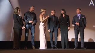 SPECTRE Paris Premiere Presentation - Daniel Craig, Lea Seydoux, Monica Bellucci, Christoph Waltz