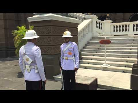 Kings Guard Thailand | Grand Palace Bangkok | Changing of Guard