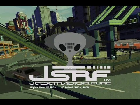 Xbox: Jet Set Radio Future (HD / 60fps)