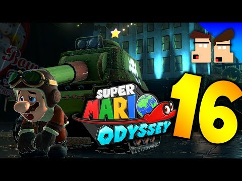 TOWER OF TERROR - Super Mario Odyssey - Part 16 - Kneelanderthals
