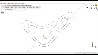 GO2cam 2D CAD Teil 1 - Handhabung der Konstruktionsbefehle im Fräsumfeld