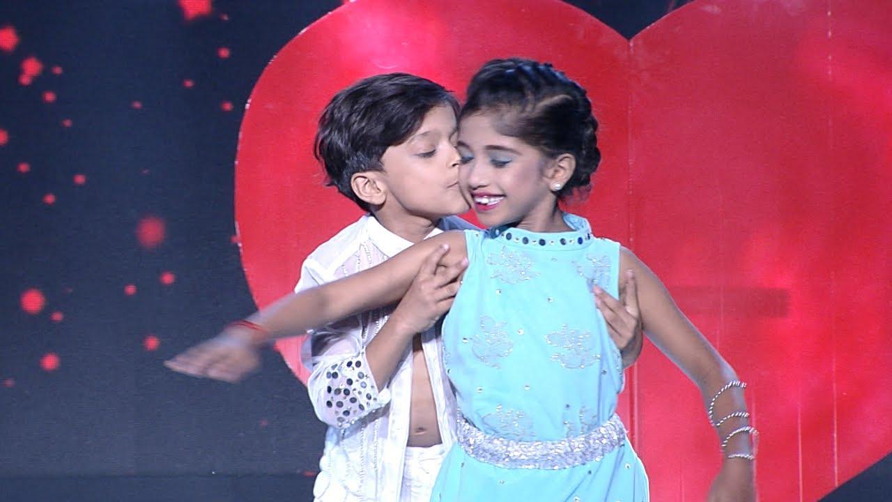 Download D5 Junior   Junior Shahrukh Khan & Kajol on the floor!   Mazhavil Manorama