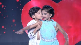 D5 Junior | Junior Shahrukh Khan & Kajol on the floor! | Mazhavil Manorama