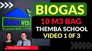 BIOGAS BAG - TEMBA Biogas Part 1