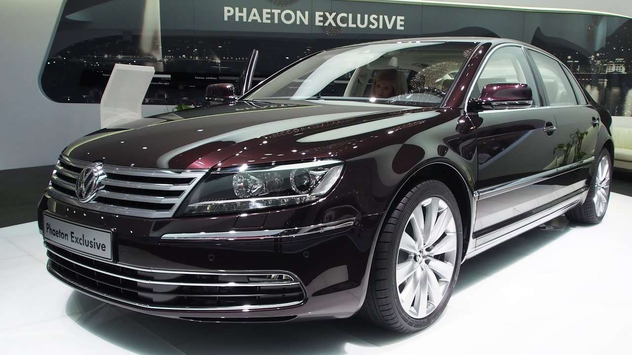 2014 volkswagen phaeton 3 0 tdi 4motion exterior and. Black Bedroom Furniture Sets. Home Design Ideas