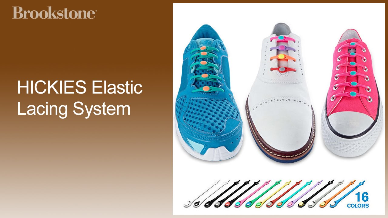39698632e6e HICKIES Elastic Lacing System How to Use - YouTube