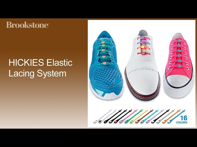 HICKIES Elastic Lacing System How to