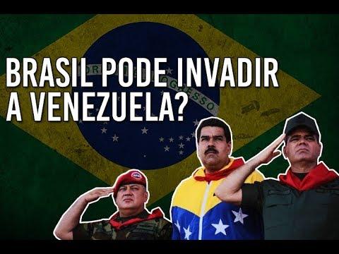 Brasil pode INVADIR a Venezuela? (Felipe Dideus)