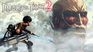 O TITÃ COLOSSAL Vs TITÃ EREN JAEGER! - Attack On Titan 2 (NOVO)