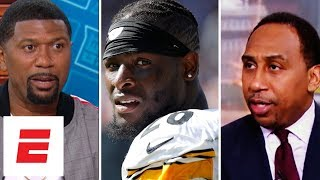 Best reaction from Le'Veon Bell's holdout with Steelers: Stephen A., Riddick and more | ESPN Voices