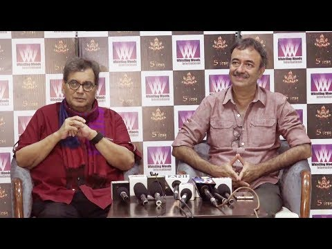 Interaction Of Rajkumar Hirani & Subhash Ghai At Whistling Woods