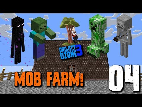 Project Ozone 3 - Ep02: Agricraft, Mob Farm and ME System