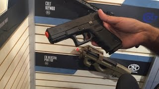 Shot Show 2016 - Palco/Spartan *NEW* GBB FNS-9 & Licensed Glock Details!