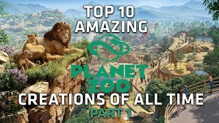 Top 10 AMAZING Planet Zoo Creations - Part 1