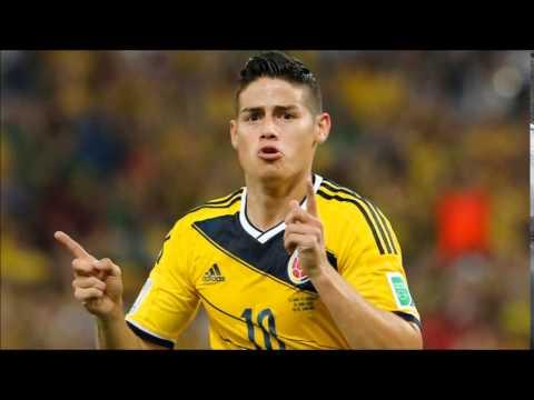 Gol de James Rodríguez - relato de Antonio Casale (Colômbia 2 x 0 Uruguai)