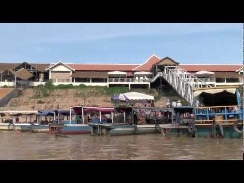 Tonle Sap Lake sunset cruise revier - Siem Reap, Cambodia
