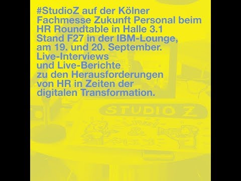 Schöpferische Unternehmer braucht das Land #ZP17 #HR_Roundtable #StudioZ #IBMLounge