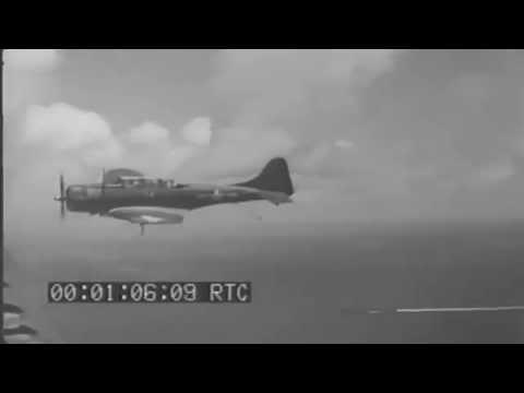 Invasion Of Saipan & Jap Air Attack On Task Force 58, USS Washington Fires AA Guns, 06/13/1944