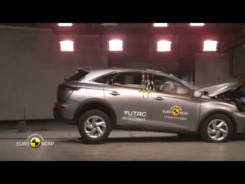 Euro NCAP Crash Test of DS 7 Crossback