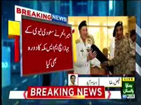 CNS CALLS ON WESTERN FLEET COMMANDER AT JEDDAH, KSA 92 news