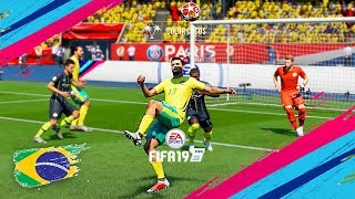 FIFA 19 | BEST BRASIL GOALS ►Compilation #1