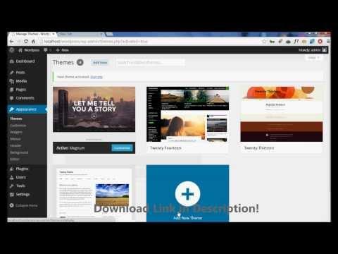 Free Download Magnum - Creative Portfolio WordPress Theme