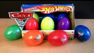 Pixar Cars 2 Holiday Edition + Hot Wheels Surprise Easter Eggs Speedsters ToyCollector BluCollection