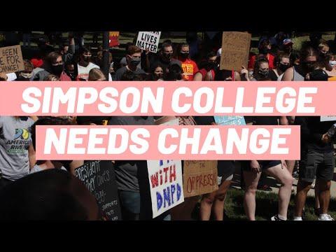SIMPSON COLLEGE NEEDS CHANGE | Simpson College Protest