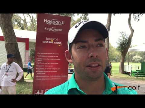 Pablo Larrazábal analiza su primera vuelta en el Trofeo Hassan II