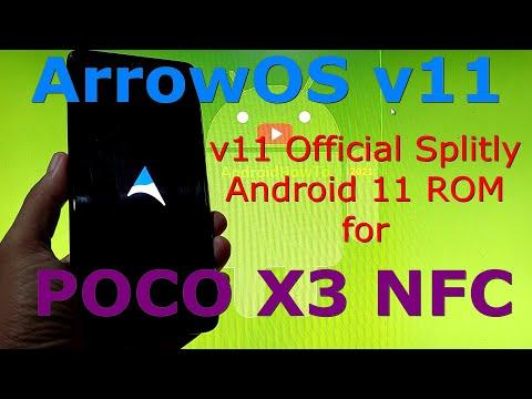 ArrowOS v11 Official for Poco X3 NFC (Surya) update: 20210731