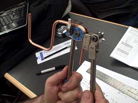 Copper tube bending (bend 2) - YouTube