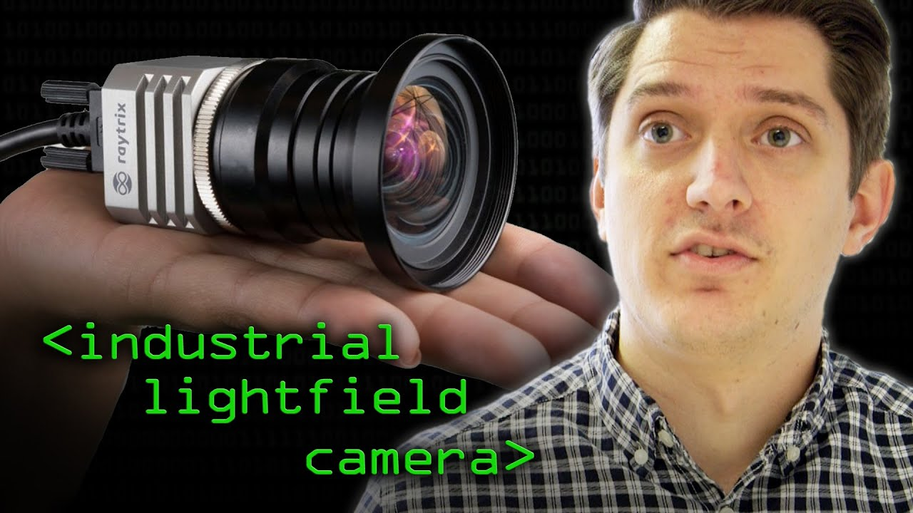 Industrial Light-field Magic (not Star Wars) - Computerphile
