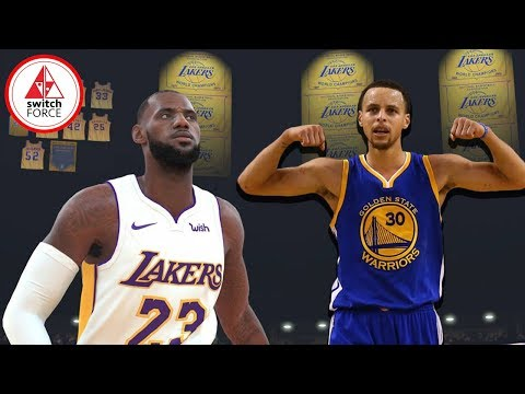 NBA 2K19 Switch Gameplay - IS THIS YEAR BETTER? FULL GAME NBA 2k19 Nintendo Switch