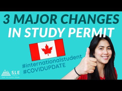 GREAT NEWS! IMPORTANT UPDATES To International Students In Canada | Changes In Study Permit 2020