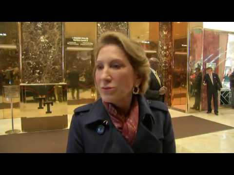FIORINA:TALKED ABOUT CHINA, HACKING WITH TRUMP