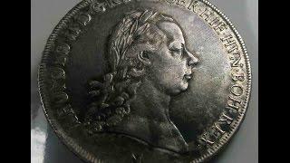 Austrian Thaler 1792 Leopold II Milano Mint Italy