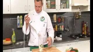 Салат из овощей и брынзы - видеорецепт