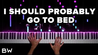 Dan + Shay - I Should Probably Go To Bed | Piano Cover by Brennan Wieland